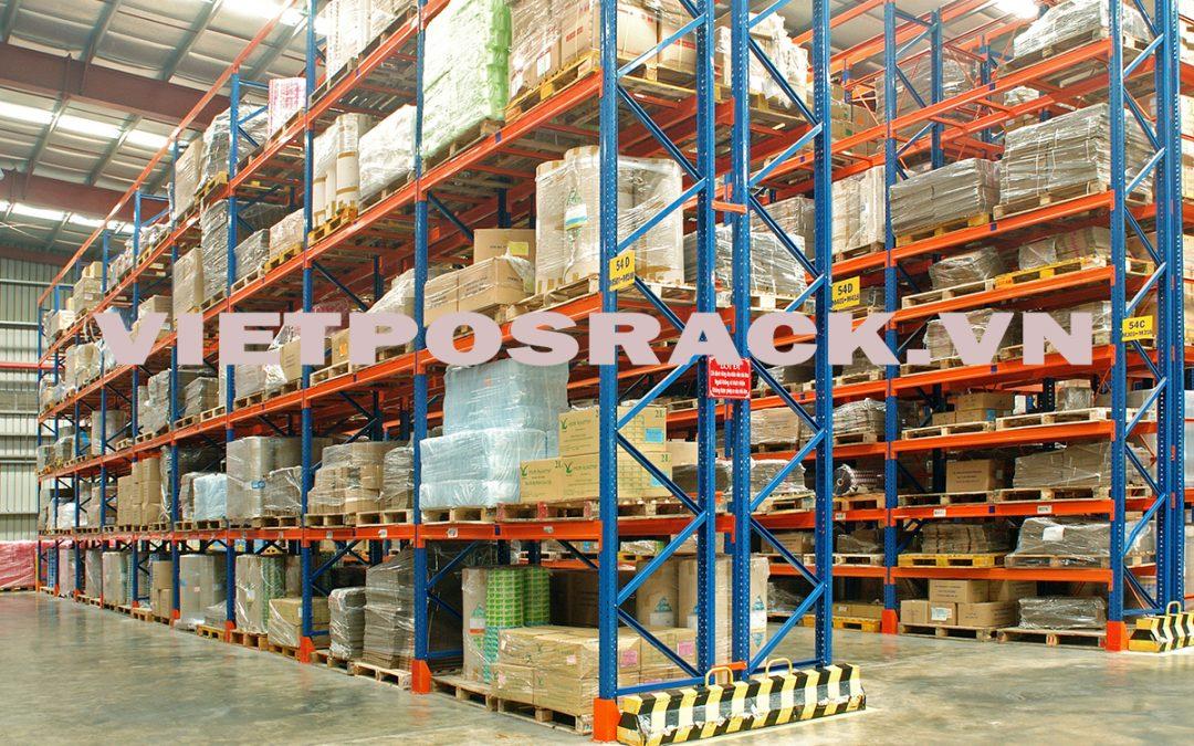 Giá kệ Selective trọng tải nặng lưu kho phân bón