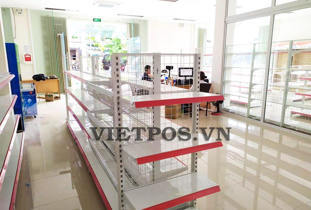 VietPos Rack cung cấp kệ siêu thị cho gas Hữu Lộc-Long An