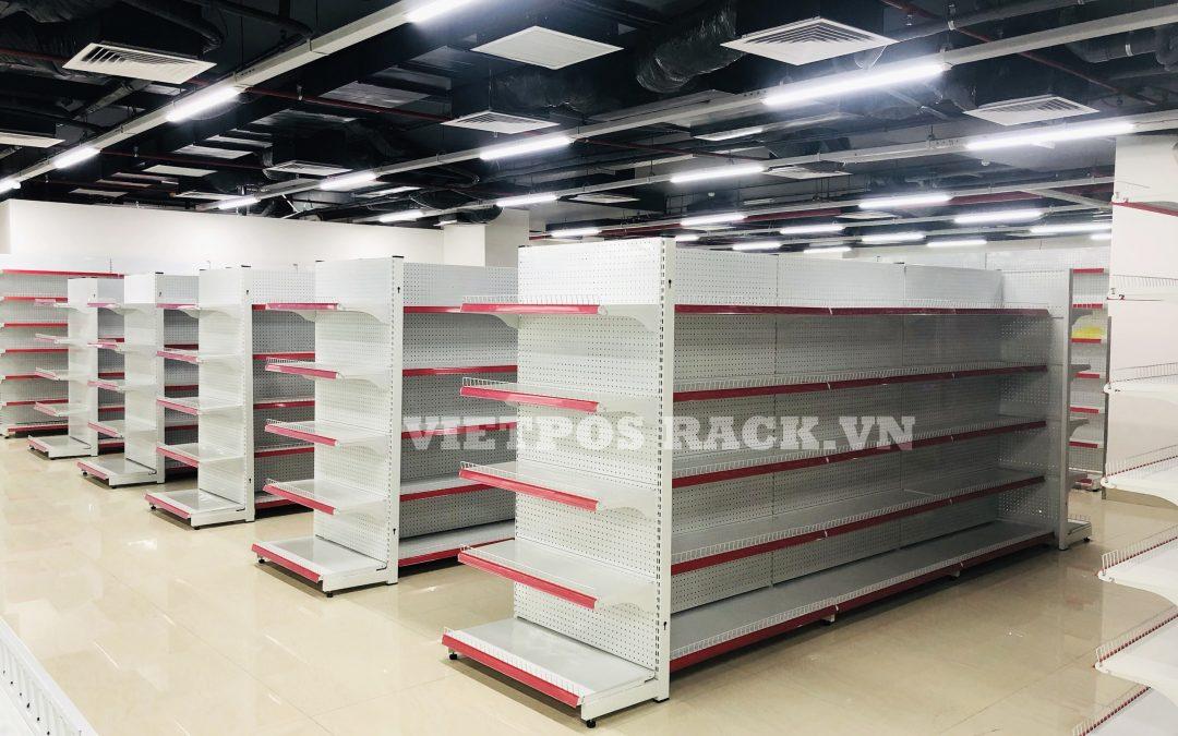 VietPos Rack phân phối và lắp đặt kệ siêu thị tôn lỗ