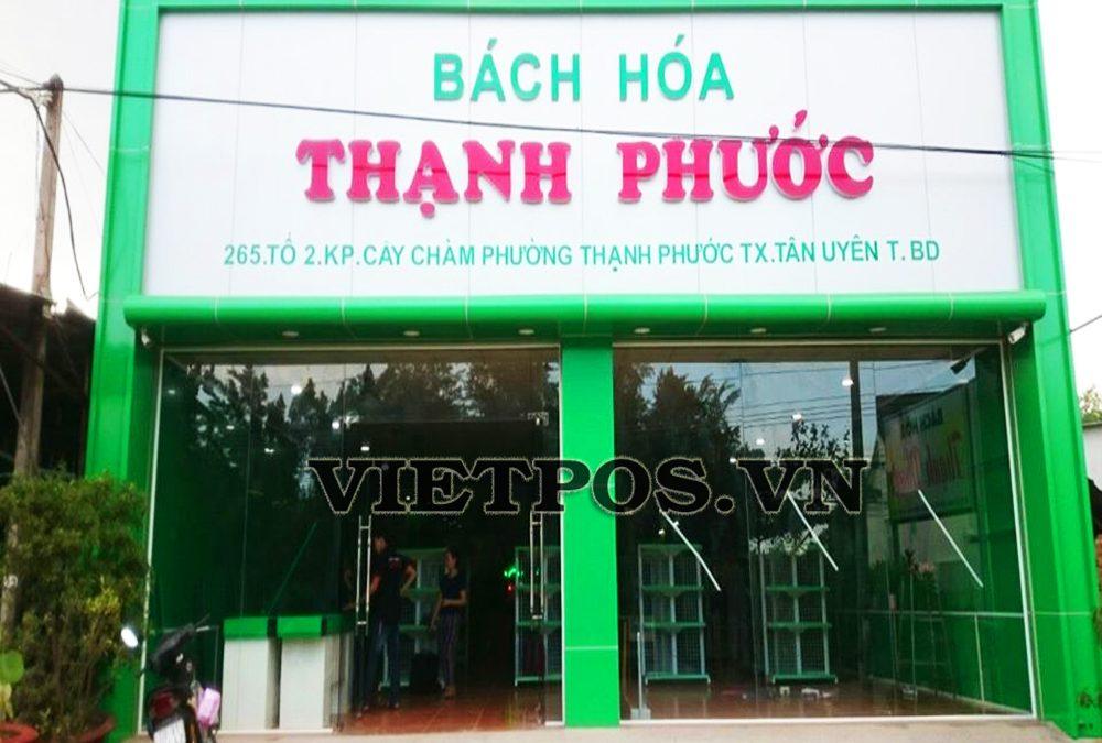 Triển khai kệ siêu thị cho Thạnh Phước tại Bình Dương