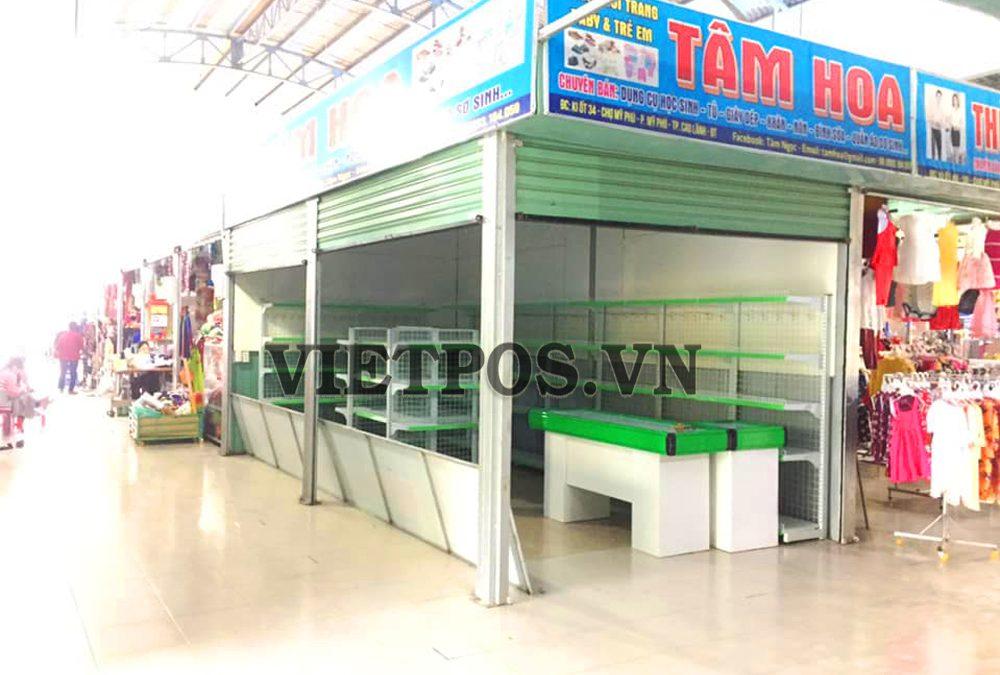 Triển khai lắp đặt kệ siêu thị cho Tâm Hoa-Đồng Tháp
