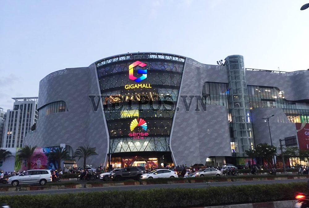 Việt POS Rack nhà tư vấn  & Cung cấp kệ trưng bày Trung Tâm Thương Mại GIGA Mall Hồ Chí Minh