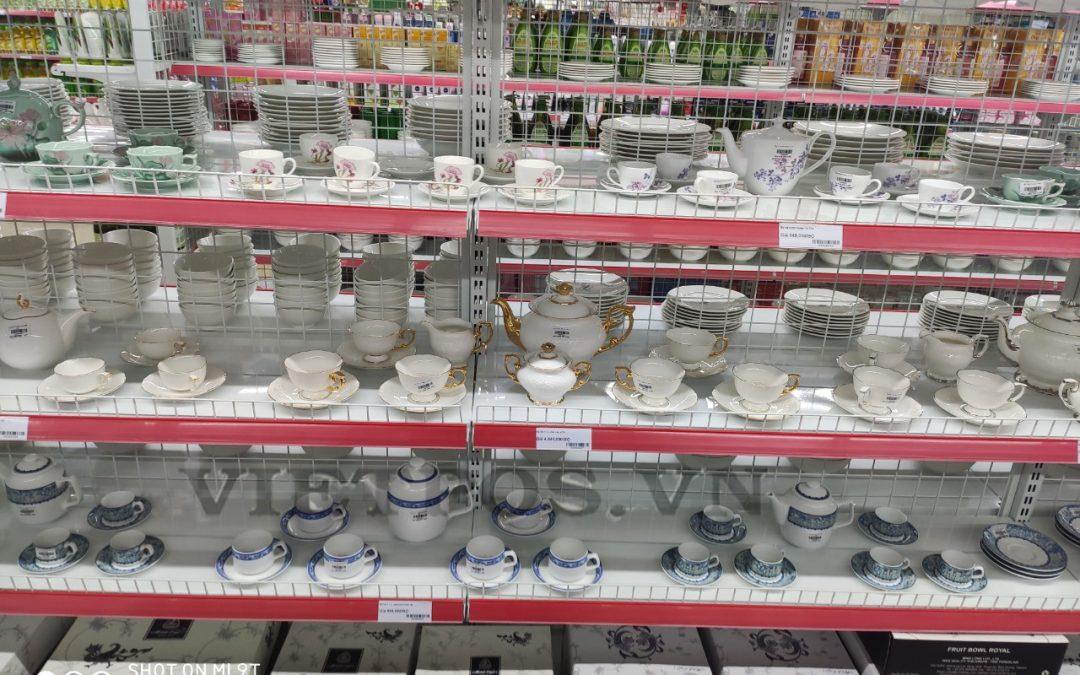 Sản xuất kệ siêu thị lưới uy tín, chất lượng tại Việt Nam