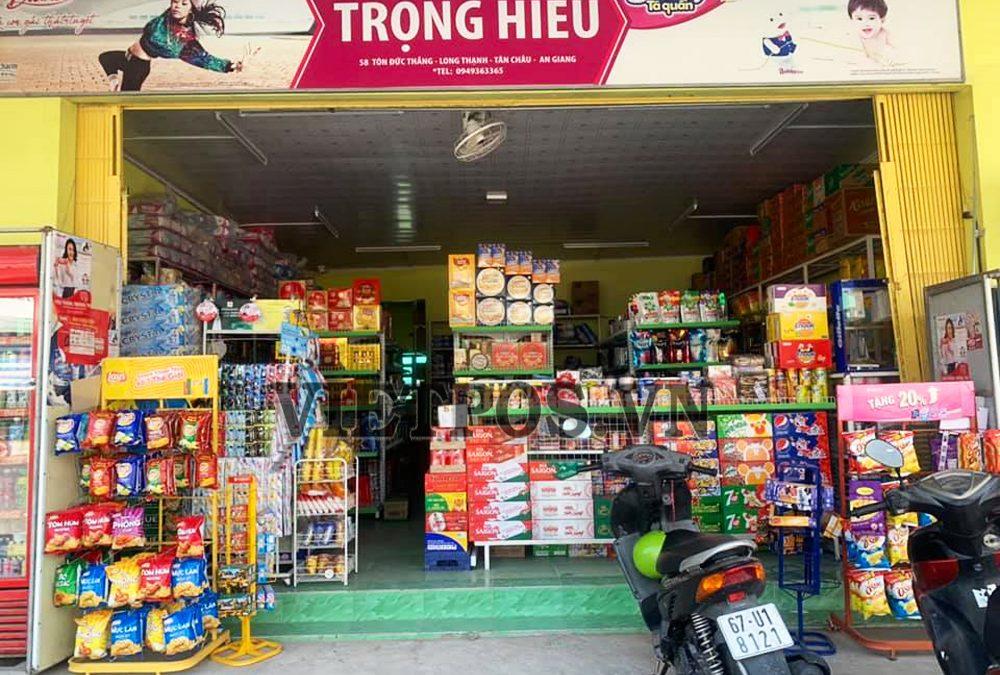 Cung cấp kệ siêu thị lưới cho Trọng Hiếu-An Giang