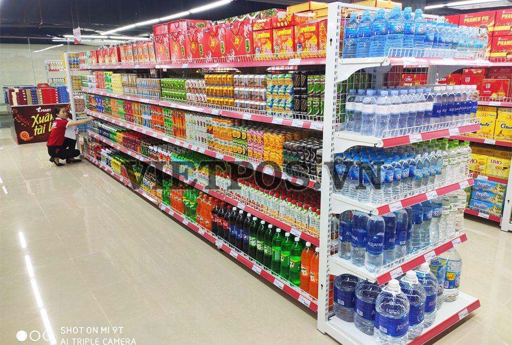 Áp dụng kệ siêu thị lưới cho trung tâm TM-Cần Thơ