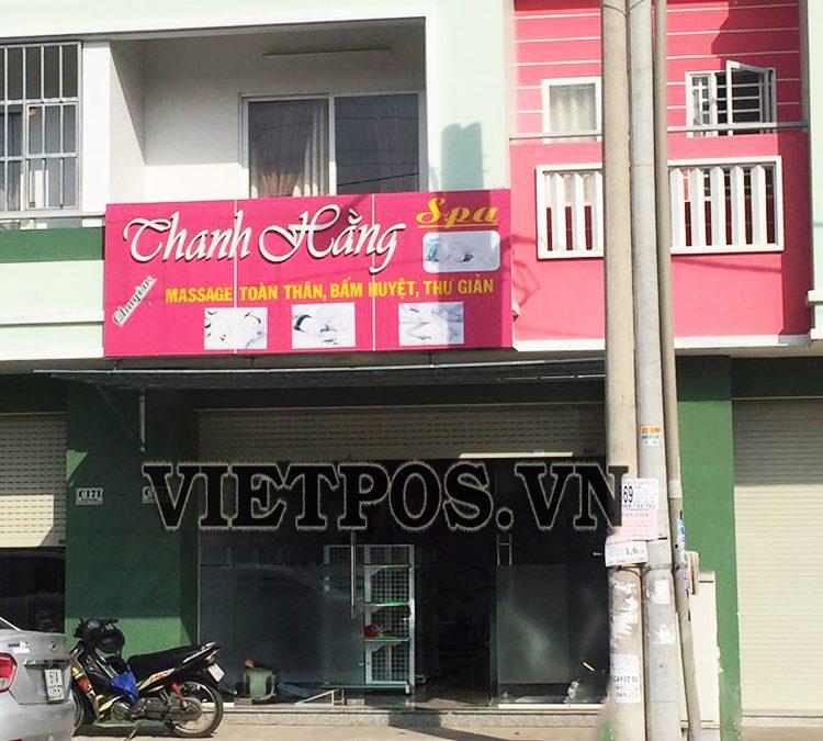 Sản phẩm kệ siêu thị lắp đặt cho Spa Thanh Hằng-Đồng Nai