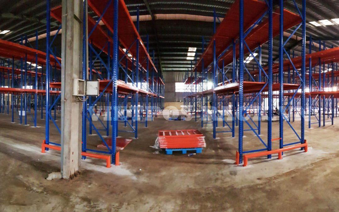 Triển khai kệ công nghiệp tải nặng tại Phù Cát – Bình Định